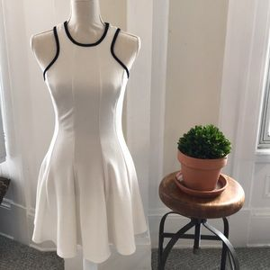 Dresses & Skirts - Beautiful stretchy tennis dress with navy trim